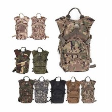 Multifunctional Outdoor Hydration Pack Tactical Backpack Mountaineering Shoulder Bag Military Hiking Hunting Cycling Sports Bag