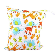 Waterproof Wet and Dry Diaper Bag for Baby Carrier (Giraffe)(China)