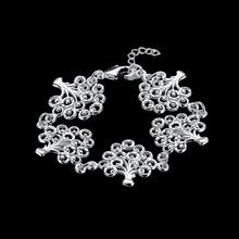 online shopping india silver charm bracelet 5 pcs tree of life bracelets for women&men pulseras mujer jewelry accessories(China)