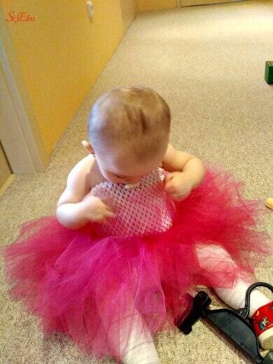 20  23 cm Children Handmade Wrapped Chest Elastic Baby Girl Crochet Tube Tops Wide for Tulle skirt DIY Dress material 5Zsh939 (34)