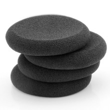 "1Pair 2"" 50mm Foam Headset Replacement Ear pads Eartips Headphone Sponge Covers For Px80/PX100/PX200/PC131/KOSS Good Quality(China)"