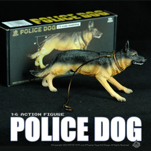 Toy Military Action Figure SWAT 1/6 Police Dog German Shepherd Model 1:6 Plastic Animal Toy Soldiers