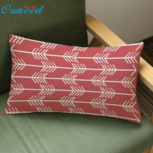 Ouneed vintage Home Decoration Festival Pillow Case Cushion Cover rectangle u61121 DROP SHIP(China)