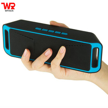 WPAIRE SC208 Wireless bluetooth speaker portable outdoor audio double horn bluetooth mini speaker support TF/UDisk Multifunction