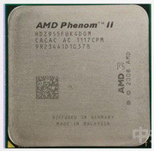 AMD Phenom II X4 955  x4 955  3.2Ghz L3=6MB Quad-Core Processor Socket AM3/938-pin