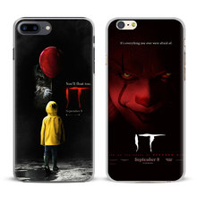 Buy IT 2017 Film Stephen king Coque Apple iPhone X 8Plus 8 7Plus 7 6sPlus 6s 6Plus 6 5 5S SE 4S 4 Mobile Phone Case Cover Bag for $2.42 in AliExpress store