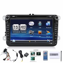 Two Din 8 Inch Car DVD Player Radio GPS Navigation audio camera Bluetooth for VW GOLF 6 polo New Bora JETTA B6 PASSAT SKODA Map(China)
