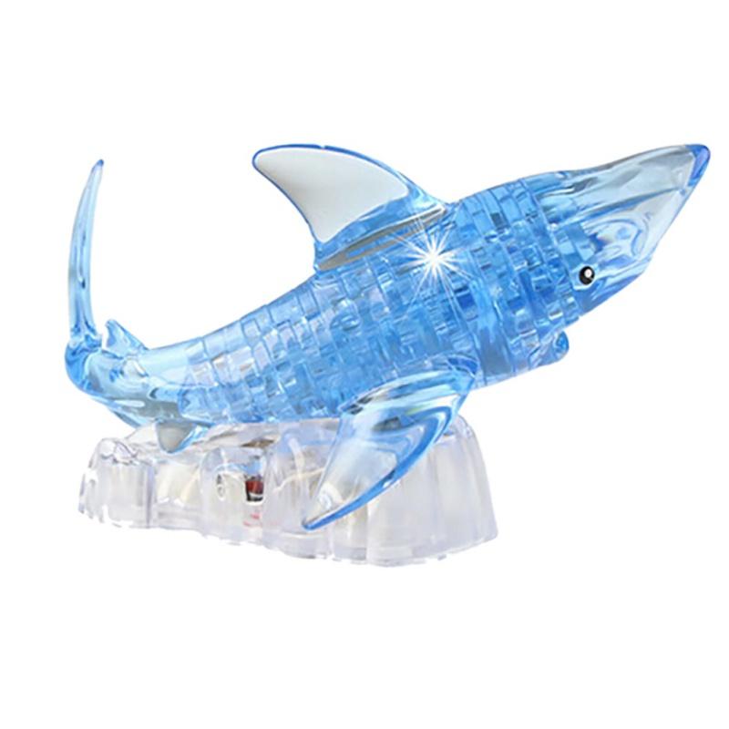 """""""Sparkle Shark"""" 3D Shark Puzzle Crystal 5"""