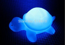 Gags & Practical Jokes Colorful the tortoise a night light Small turtle light-emitting toys Novelty & Gag Toys(China)