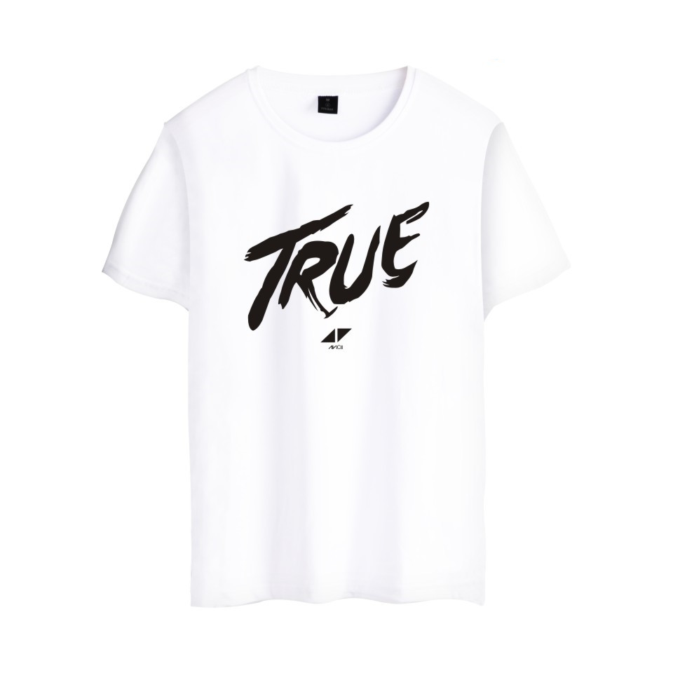 2017 Avicii DJ Logo Summer T-shirts Female Cotton Short Sleeve Print Fans Club Casual Hip Hop Tee tops Homme Men/WomeWANGCANGLI