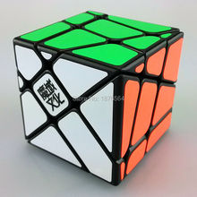 New YJ MoYu Crazy YiLeng, Fisher Speed magic Cube Cubo magico Puzzle, learning & education toy(China)