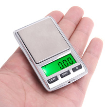 0.01g * 100g/0.1g * 500g Dual Mini Digital Scales Balance Pocket Electronic Jewelry Scale precision balance Weighting Scales(China)