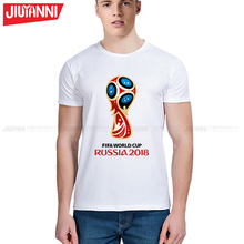 New arrival russia 2018 t-shirt World Cup competition vintage printed mens t shirt summer casual t shirts 5XL free shipping