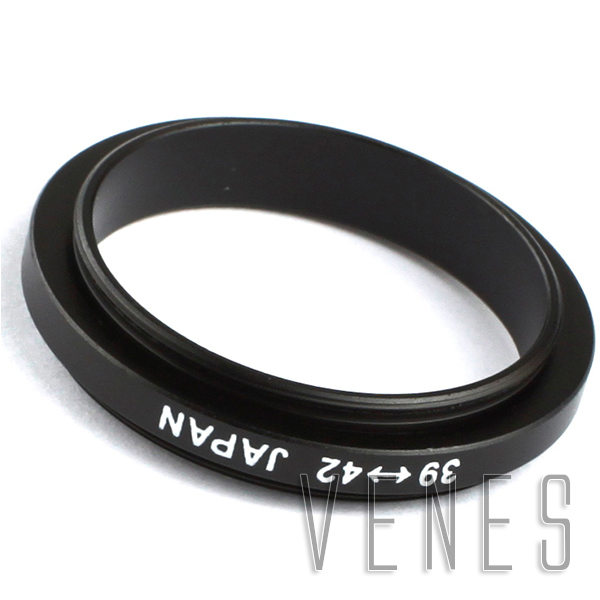 39mm Male to 42mm Male Marco Reverse Coupling Ring Adapter
