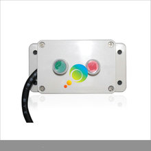 New arrival easy operation mini red green LED traffic light controller(China)