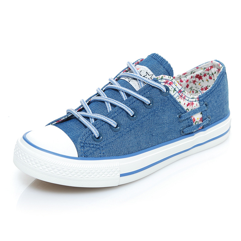 Fashion Women Casual Floral Frenchie Printed Shoes Female Lace-up Flats Girl High Canvas Shoes High Quality Gifts for Ladies <br><br>Aliexpress