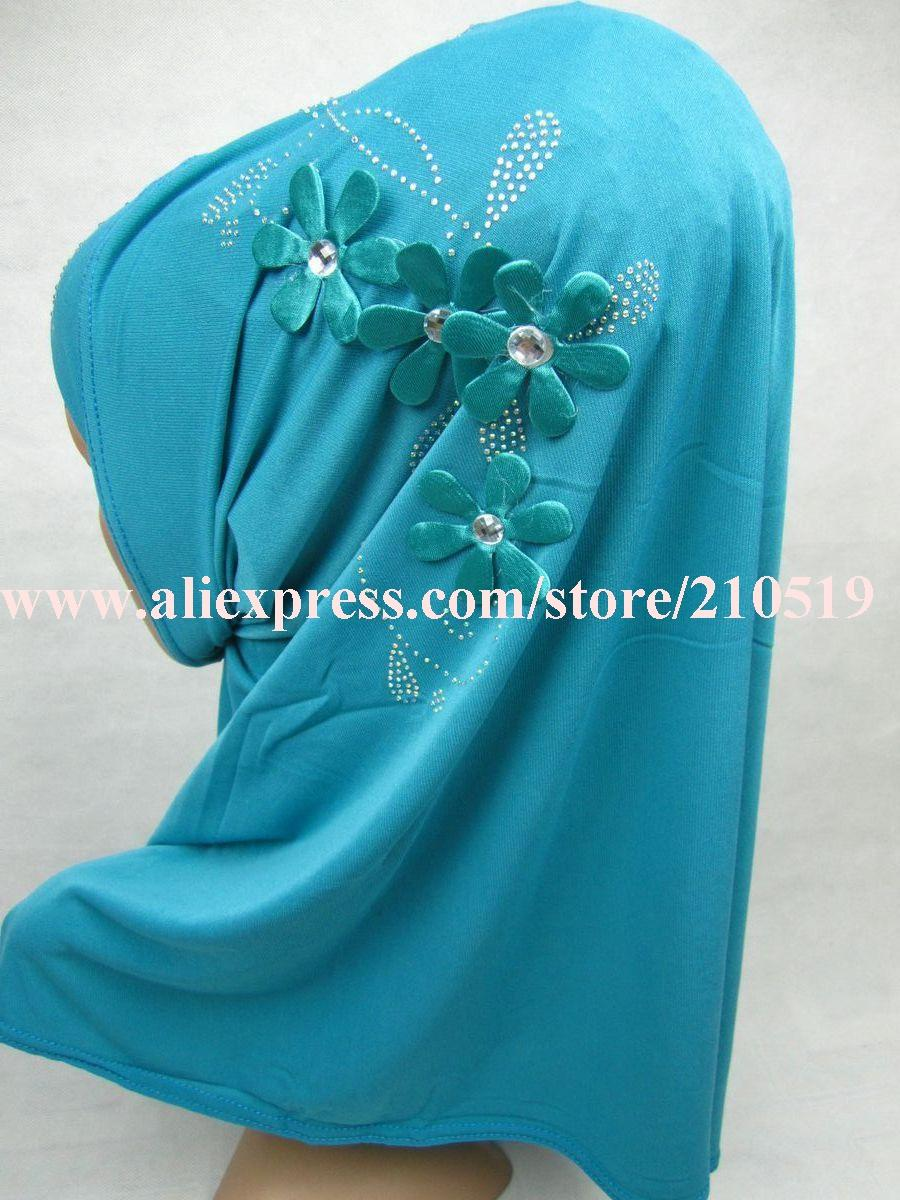 FBA023 New Hijab Amira Islamic Head Scarf Hejab