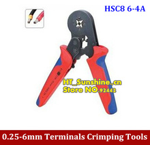 High Quality HSC8 6-4A Mini-type self-adjustable copper tube terminal crimping tool  0.25-6mm2 23-10AWG(China)