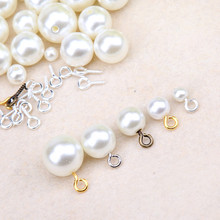 8mm 10mm Small Sheep Eyes Nail Screw Tiny Mini Eye Pins Hooks Eyelets  for Beaded Pendant Screw Findings Jewelry Accessories