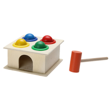 Buy Baby Colorful Hammering Wooden Ball Wooden Toy Wooden Ball Hammer Box Toy Children Early Learning Educational Toys Children for $4.27 in AliExpress store