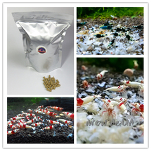 40g Aquarium Bee Shrimp Food Feed Benibachi Red Bee Cherry Shrimp Snow Natto Shrimp Food For Crystal Red Shrimp Snail