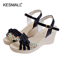 Freeshipping shoes women version of the new female fashion sandals with slope mouth sandals manufacturers selling one generation
