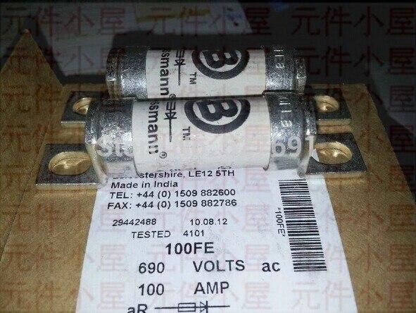 BUSSMANN Fuse 100FE 100A 690V imported<br><br>Aliexpress