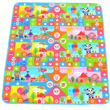 Hot! Flying Chess Game Board Baby Crawling Play Mat Children Puzzle Pad Kids Soft Floor Game Carpet Toy Foam Developing Mats New