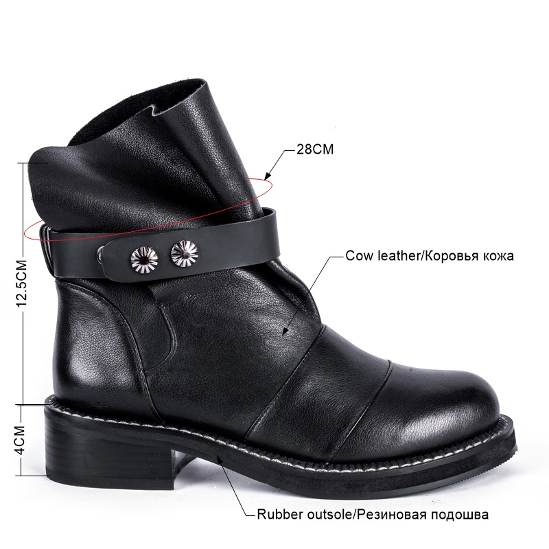 4 Ankle Boots Winter with VelvetBAM139B (3)