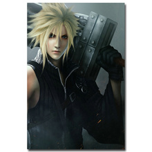 Cloud Strife - Final Fantasy VII Art Silk Fabric Poster Print 13x20 24x36 inch Hot Game Pictures for Living Room Wall Decor 006