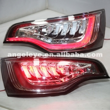 For Audi Q7 LED Tail Light Rear lamp Back light  2006-2010 year silver Housing Red Color SN