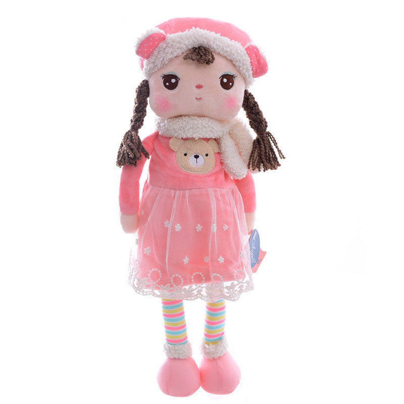 Official METOO Plush Toys Rabbit Bear Strawberry Angela Plush Dolls Girls Collectible Gifts Dolls for Kids 16 Inches<br><br>Aliexpress