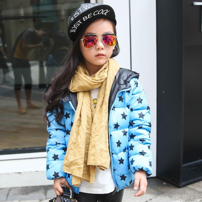 girls down coat kids parka children winter jacket 2017 new hooded outwear color rose and greenОдежда и ак�е��уары<br><br><br>Aliexpress
