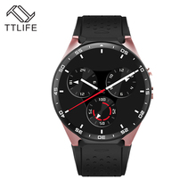 TTLIFE Heart Rate Tracker Smart watch 1.39 Inch Screen support 3G WIFI GPS Sim card men Smartwatch Android 5.1 For Phone 7(China)