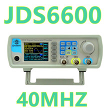 JDS6600 40MHZ Digital Control Dual-channel DDS Function Signal Generator frequency meter Arbitrary 25% off