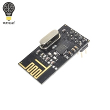 Free Shipping 1PCS NRF24L01+ wireless data transmission module 2.4G / the NRF24L01 upgrade version We are the manufacturer(China)