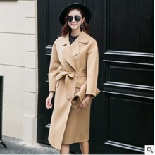 Very good quality new products listed winter 2016 new products to market, the original design loose women big yards wool coat