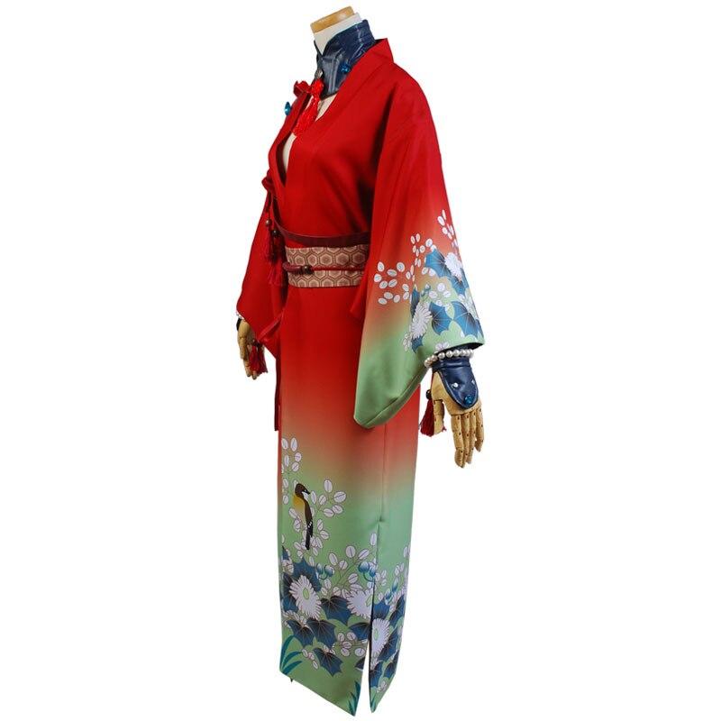 DMMD DRAMAtical Murder Koujaku Kimono Cosplay Costume (3)