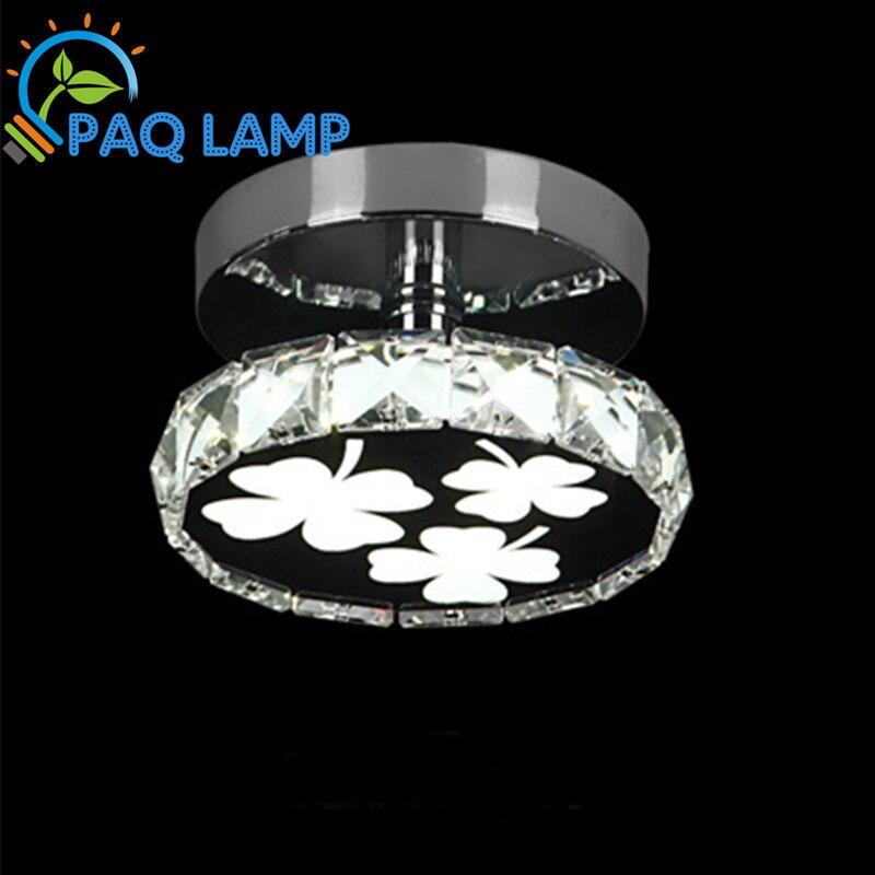 Modern LED Ceiling lamp K9 Crystal Lucky grass ring for Corridors aisle Porch shop  bedroom restaurant bar light fixture<br><br>Aliexpress