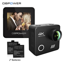DBPOWER L1040 4K Wifi Action Camera 2.0Inch LCD Screen 4K/24FPS 1080P/60FPS Waterproof 3D Anti-Shake Technology Go Sport Cam Pro