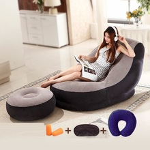 4889 Conwr leisure small inflatable sofa bed folding chair lazy creative dormitory windows tatami(China)