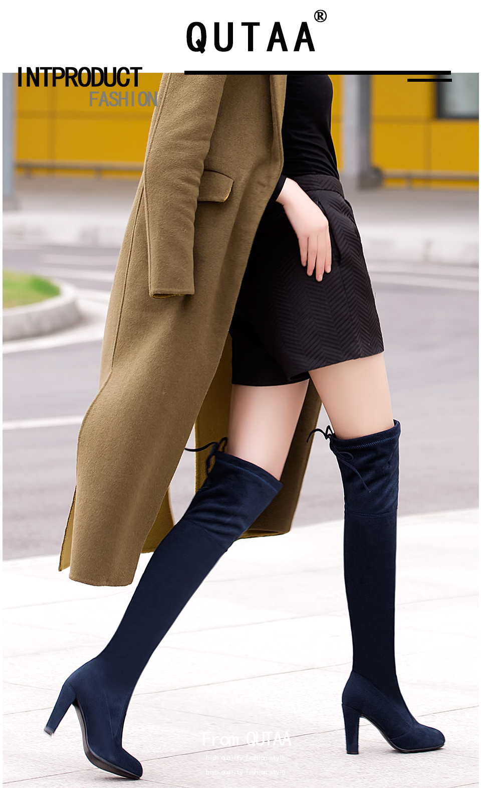 2018 Women's Over The Knee Boots, Fashion Sexy High Boots 10