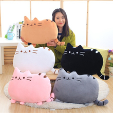 40*30cm 2017 Plush Toys Stuffed Animal Doll Talking Animal toy Pusheen Cat For Girl Kid Kawaii Cute Cushion Brinquedos(China)