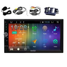 Android 6.0 Car Radio Stereo WiFi 2 Din Stereo Support 4G/3G OBD External Microphone FM/AM RDS Radio Gps Navigator Backup Camera