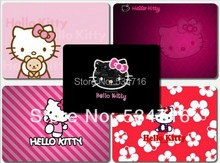 Desktop pad customization mousepad hello kitty cute gaming mouse pad large notbook computer mouse mat 8 size gear mouse pad(China)