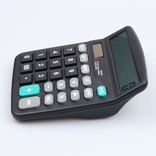 Calculator Solar Battery Light Powered Calculator 12 Digits Office Home Portable Calculator Office worker School Calculator