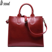 female genuine leather handbags large capacity women messenger bags real leather bags ladies blosas SC0235