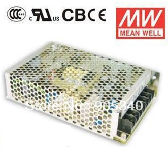 MeanWell NES-150-12 150W 12.5A 12V Single Output Switching LED transformer High Reliability Miniature SMPS CB  UL<br>