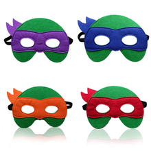 1pc Ninja Turtles Mask Captain America Teenage Mutant Ninja Turtles The Avengers Kid Birthday Gift  Cosplay Party Decor Supplies