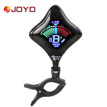 JOYO JT-02 Mini Clip On Digital Guitar Tuner USB Chargeable Lithium Battery Color Screen for Chromatic Bass Violin Ukulele